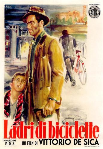 Afiche Ladrón de bicicleta