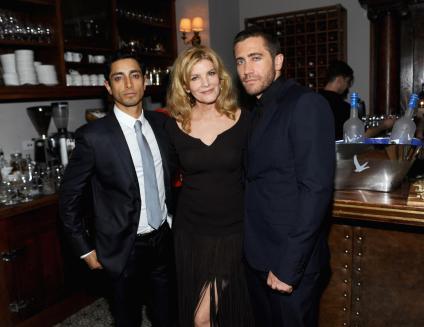 De izq. a der. Riz Ahmed, Rene Russo y Jake Gyllenhaal