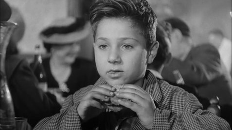 El niño Bruno en el desarrollo del filme