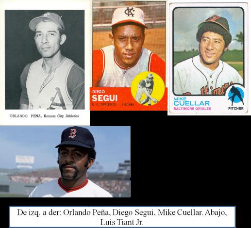 Lanzadores bateadores cubanos
