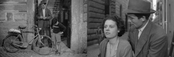 Liana Carell junto a Lamberto Maggioran en una escena del filme
