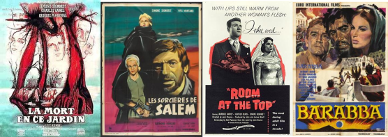 Afiches Simone Signoret 2
