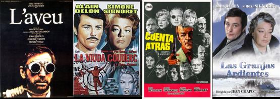 Afiches Simone Signoret 4