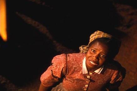 Butterfly McQueen en escena del filme