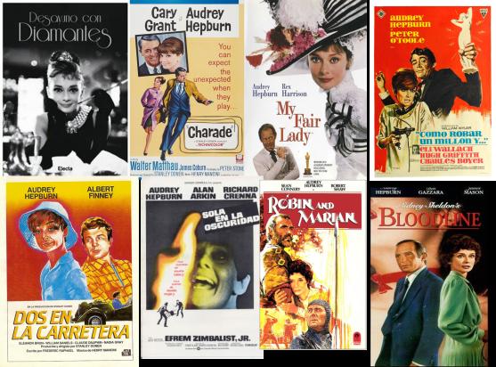 Afiches Audrey Hepburn 2