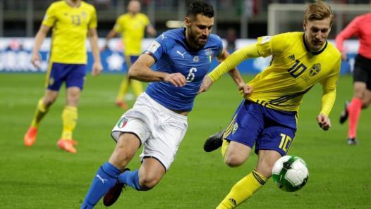 Imagen juego Italia vs Suecia