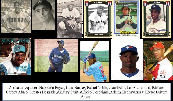 Santiago de Cuba peloteros MLB