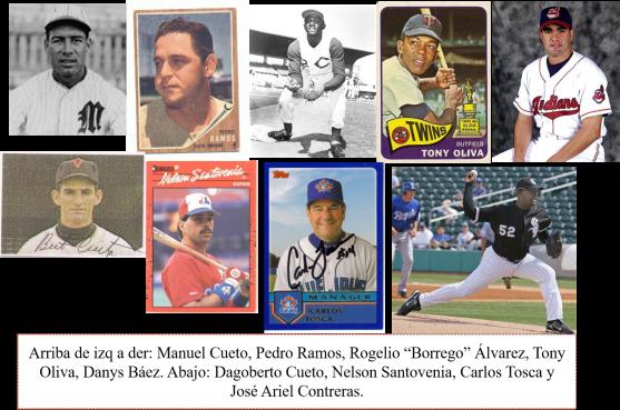 Peloteros pinareños MLB