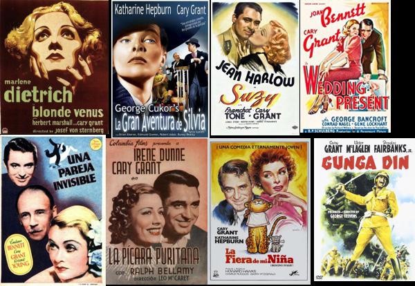Afiche Cary Grant
