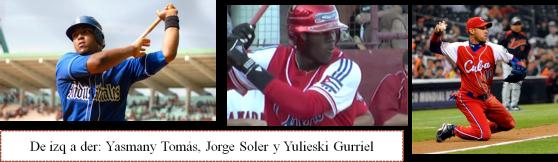 Los neojonroneros cubanos en la MLB 2