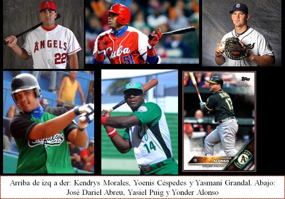 Los neojonroneros cubanos en la MLB