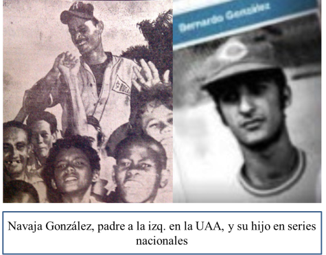 Navaja González padre e hijo