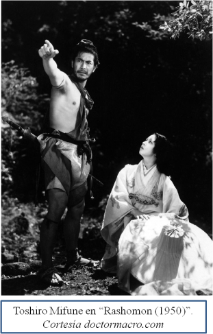 Toshiro Mifune Rashomon