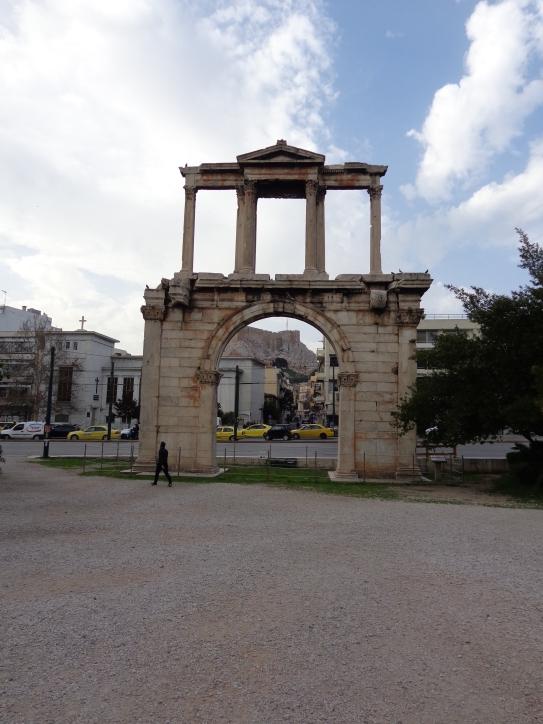 Arco Adriano, Atenas