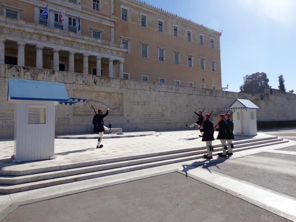 Cambio Guardia Parlamento Atenas 7