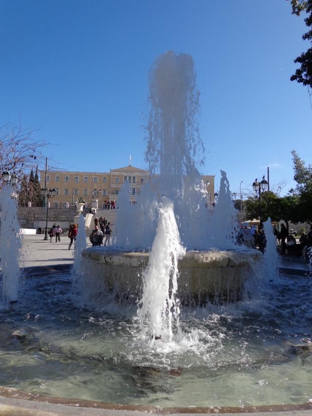 Fuente Plaza Syntagma, Atenas
