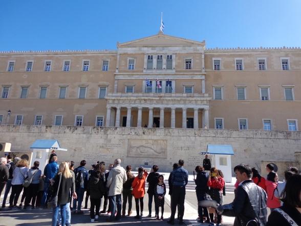 Parlamento en Atenas 2