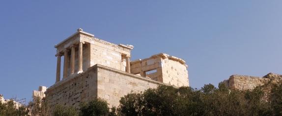 Propileos, entrada Acrópolis