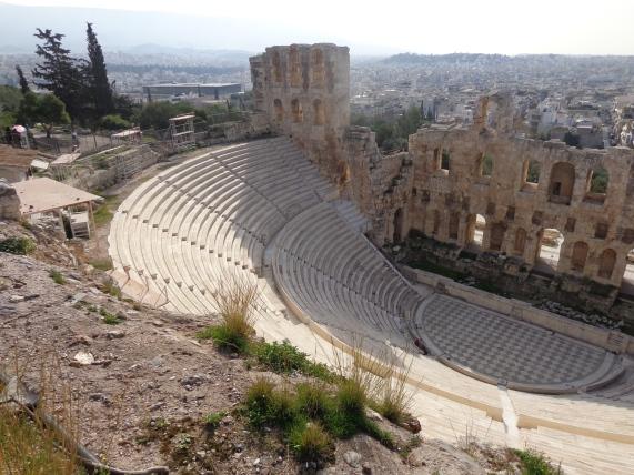 Teatro Dionisio, Atenas