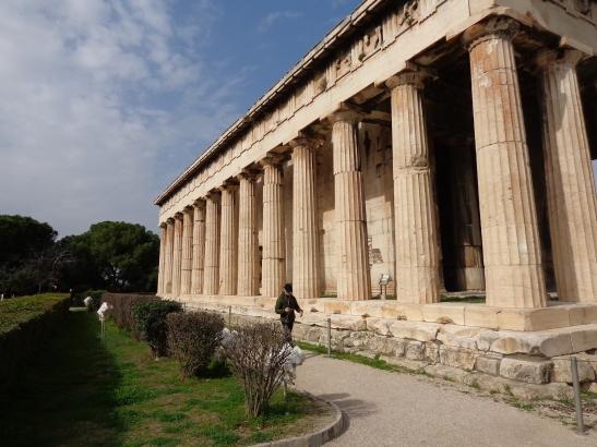 Templo Hefesto, Agora Antigua 2