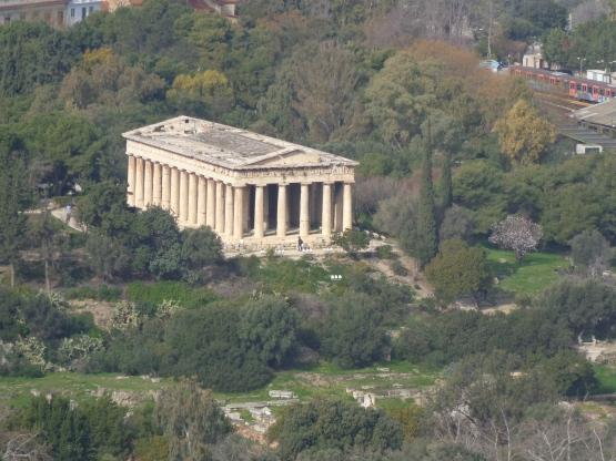 Templo Hefesto, Agora antigua, Atenas
