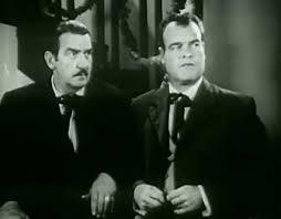 Charles King y John Merton en Devil Riders (1943)