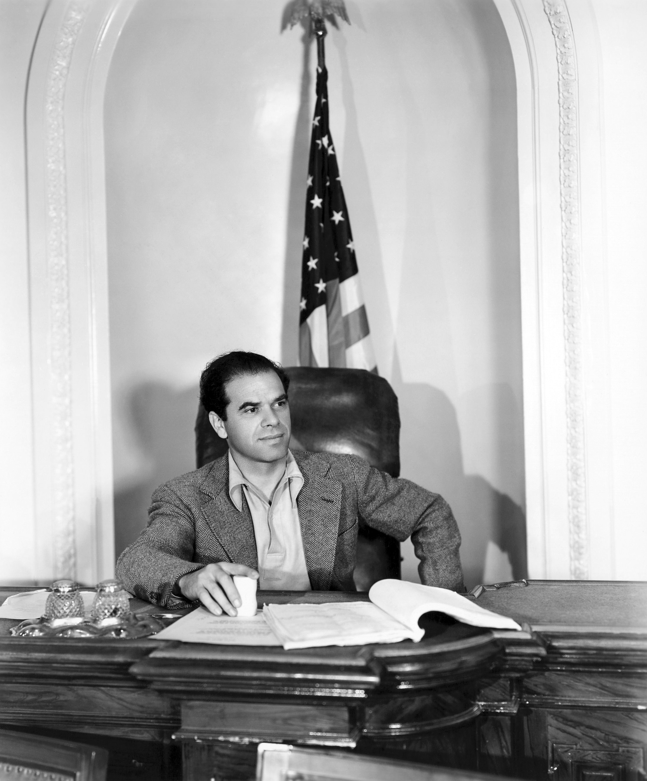 Frank Capra en el rodaje de Mr. Smith Goes to Washington (Ann)