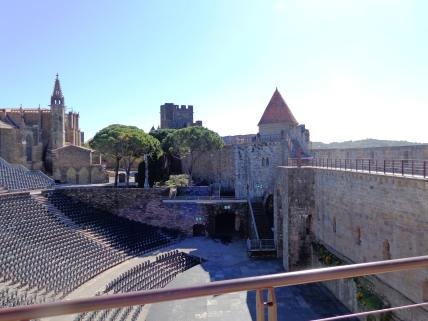 Anfiteatro en la ciudadela de Carcassonne