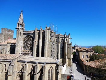 Basilica de San Nazario en Carcassonne