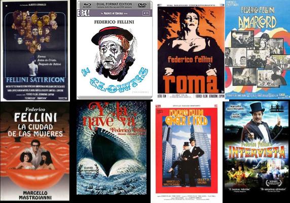 Federico Fellini Afiches 2