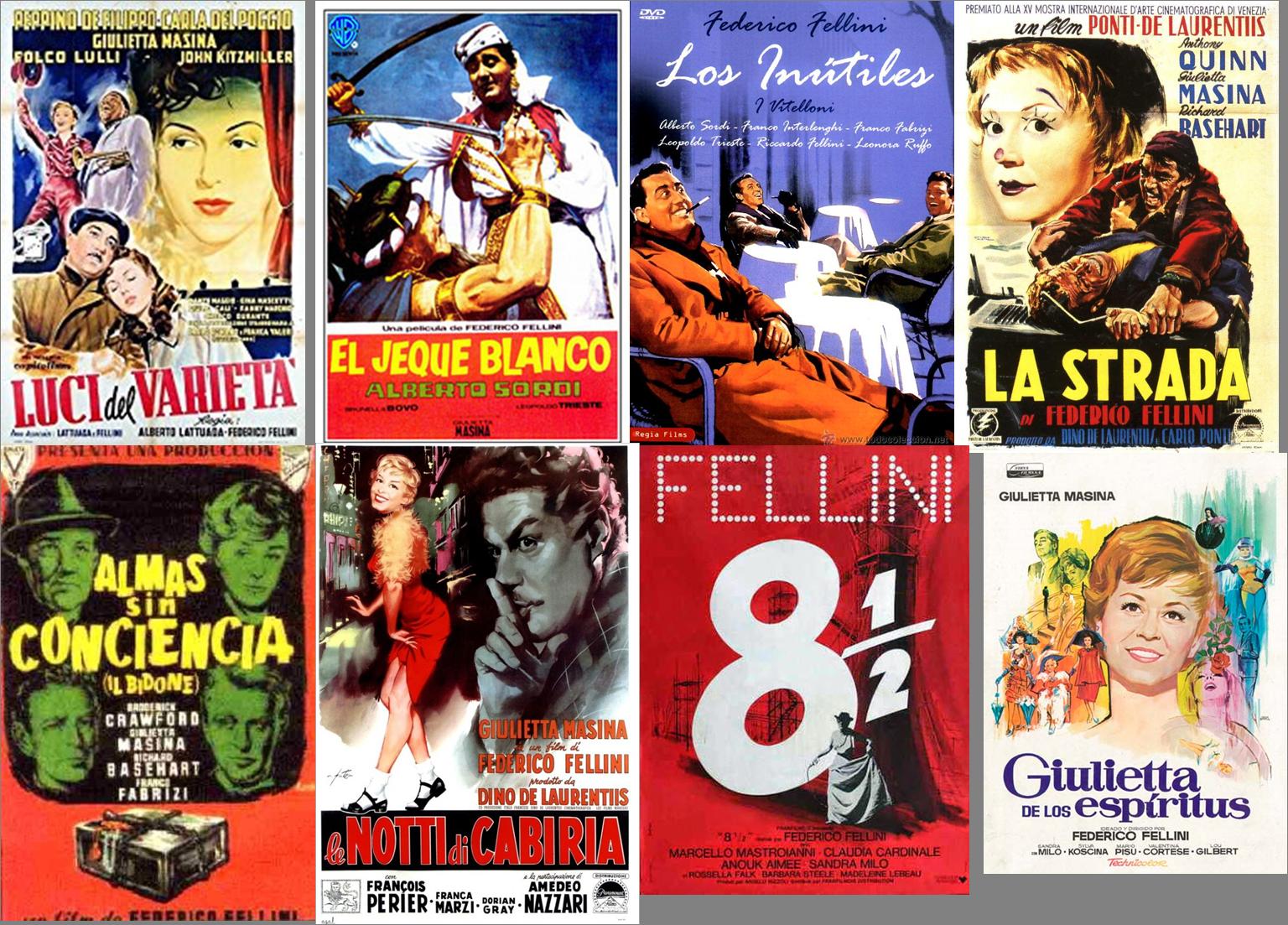 Federico Fellini Afiches