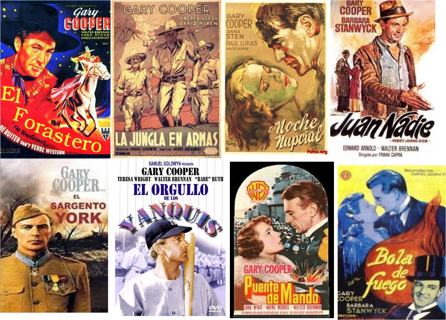 Gary Cooper afiche 2
