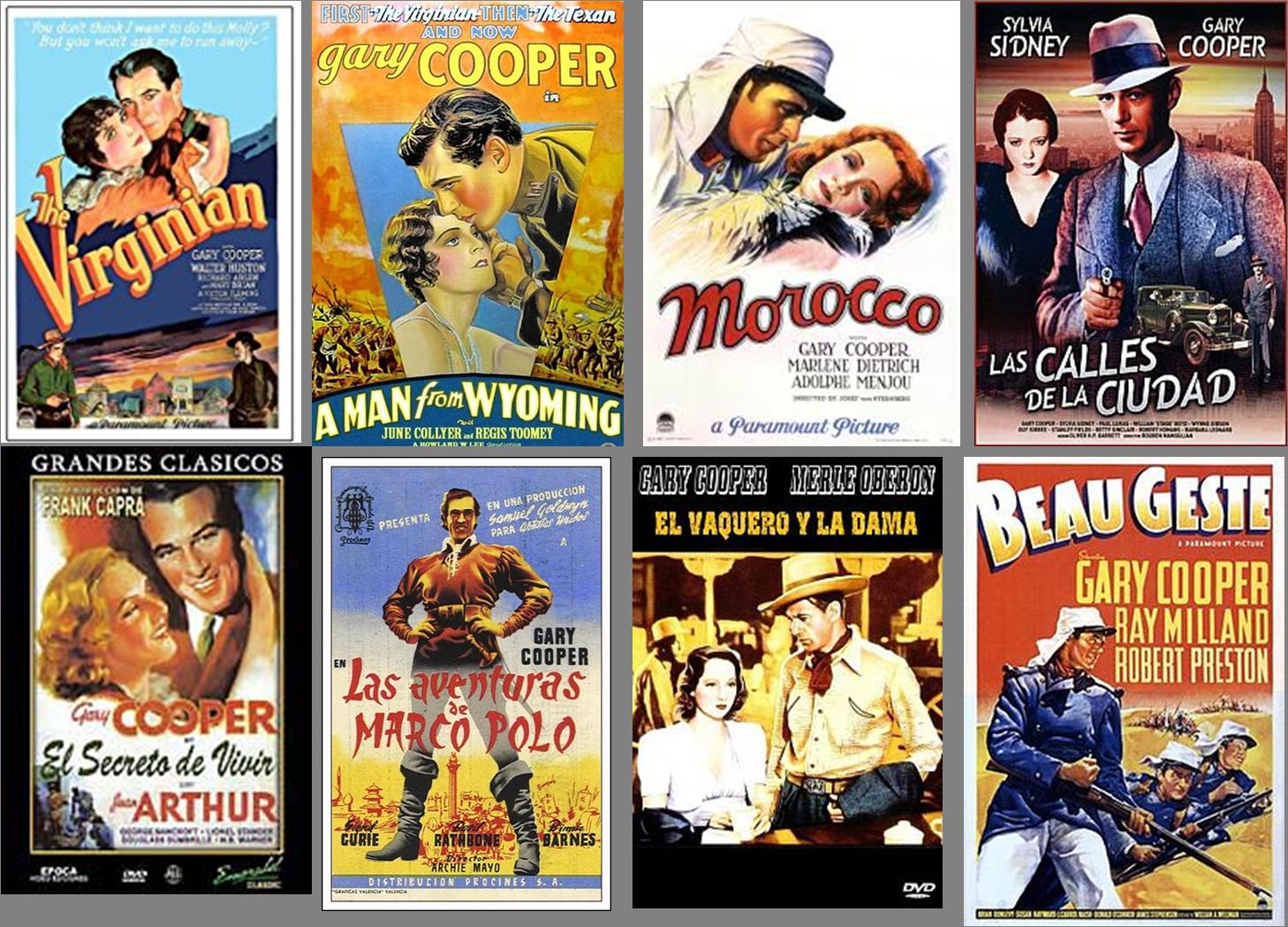 Gary Cooper afiche