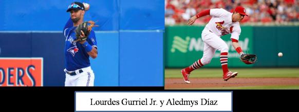 Gurriel Jr. y Aledmys