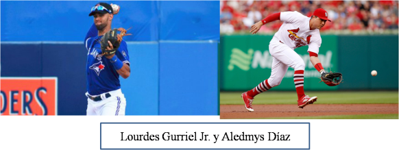 Gurriel Jr. y Aledmys