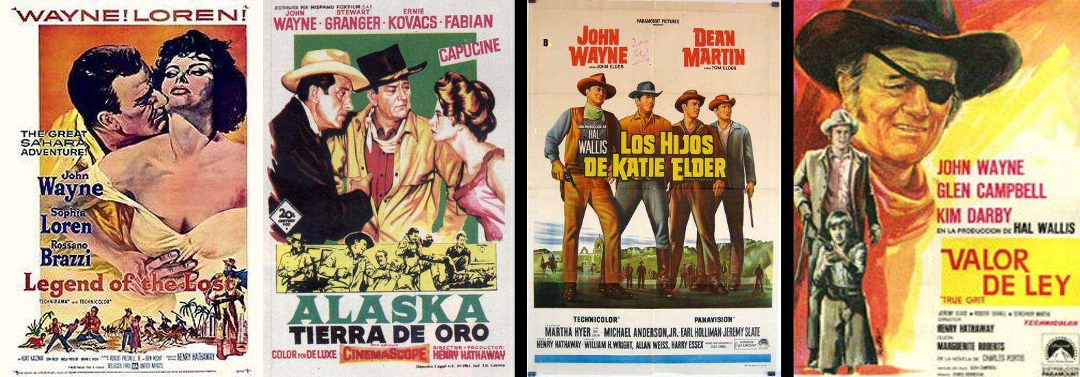 John Wayne afiches 3