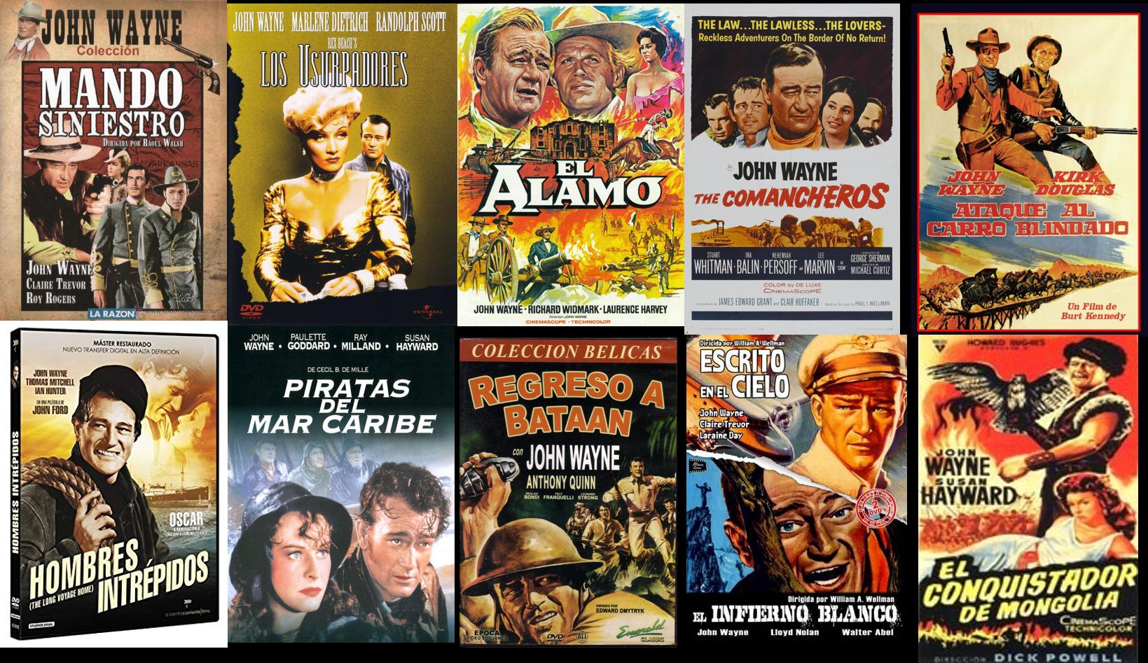 John Wayne afiches 4