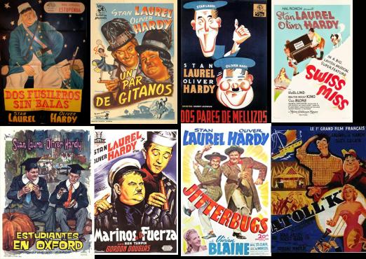 Laurel y Hardy afiche 2