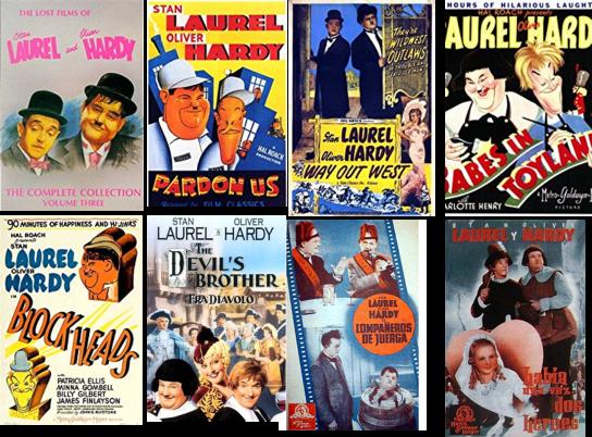 Laurel y Hardy afiche