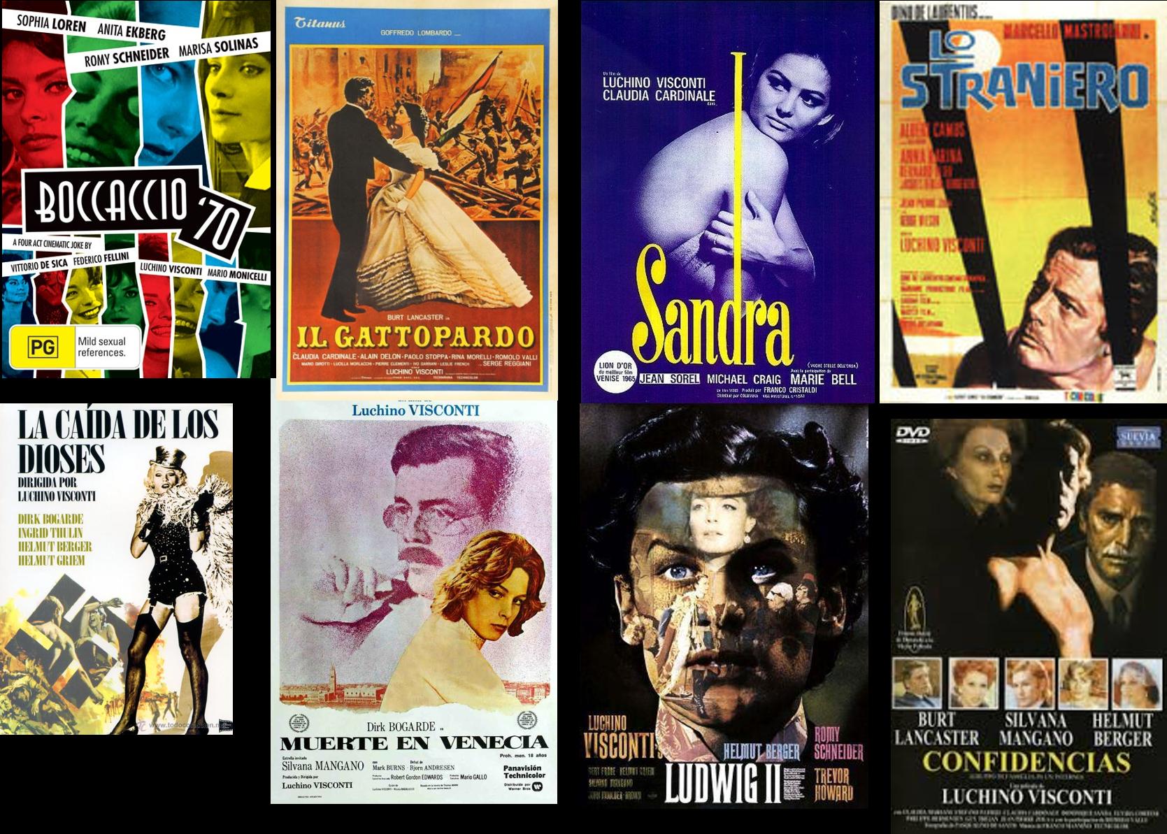 Luchino Visconti afiche 2