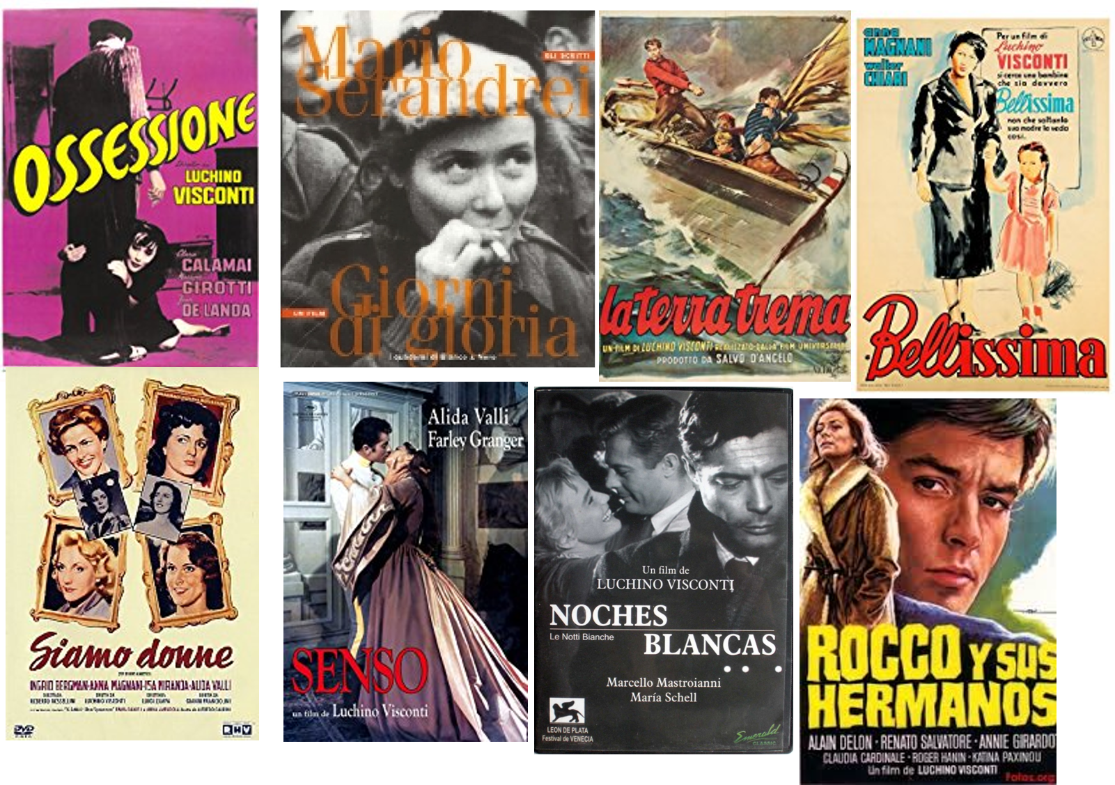 Luchino Visconti afiche