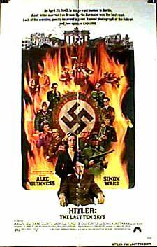Afiche los diez últimos días de Hitler