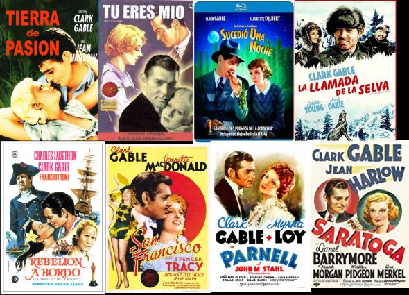 Clark Gable afiches 2