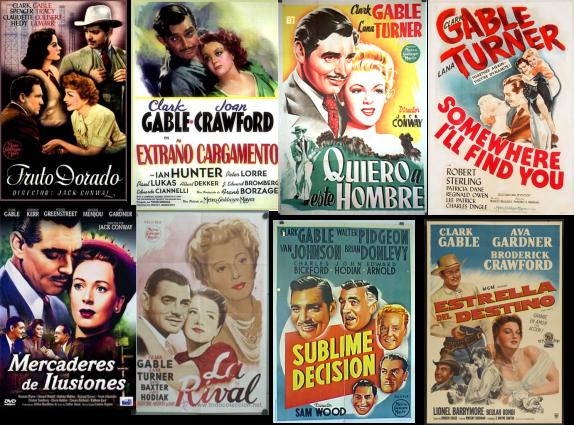 Clark Gable afiches 3