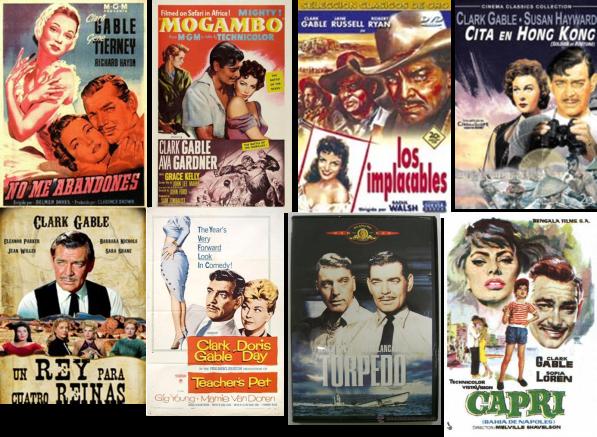 Clark Gable afiches 4