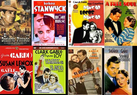 Clark Gable afiches
