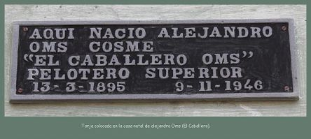Tarja de Alejandro Oms