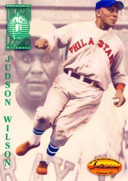 Jud Wilson con las Estrellas de Filadelfia