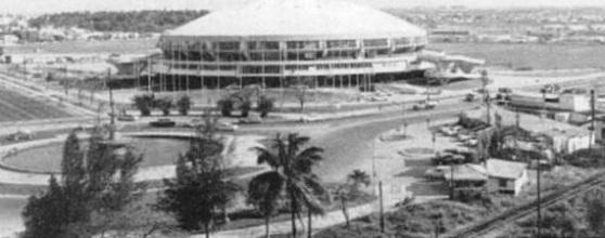 Coliseo Ciudad Deportiva en 1957