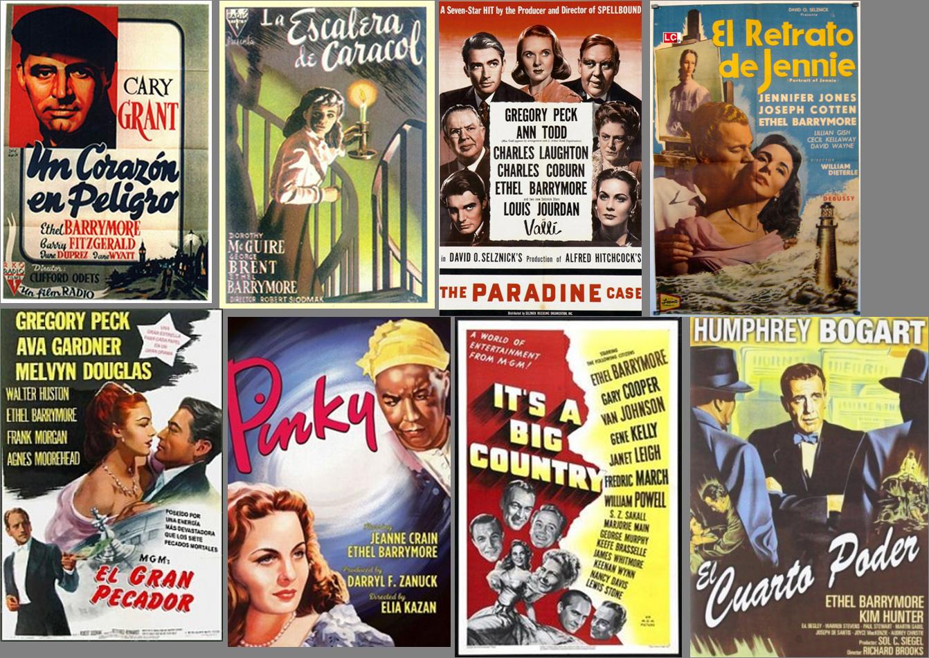Ethel Barrymore afiches